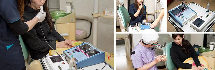 院内 治療風景 福岡県八女市 口臭治療 ほんだ式口臭治療 山崎歯科医院