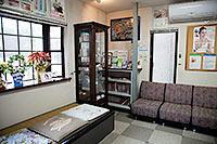 福岡県八女市 山崎歯科 待合室